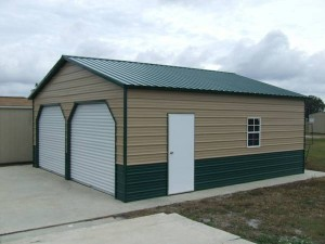 Horizontal Steel Siding 300x225 Hansen Buildings